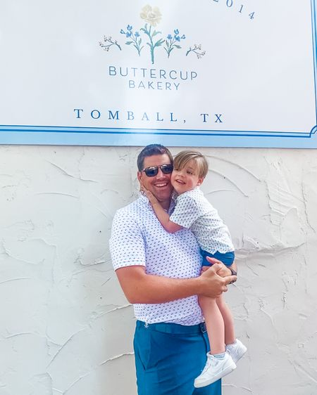 A morning in Tomball calls for a little matching! Love these father som looks ahead of #fathersday! Shop Mr and Little BMF's looks on my @liketoknow.it at http://liketk.it/3hujV   #liketkit #LTKfamily #LTKkids #LTKmens