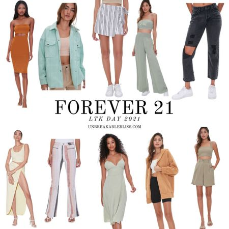 The LTK DAY Sale is just around the corner! And I'm obsessed with these outfits from Forever 21! @liketoknow.it #liketkit #LTKDay #LTKsalealert #LTKunder50 http://liketk.it/3gXDA