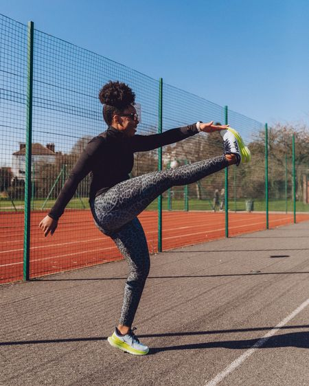Did you know that Amazon has its own fitness collection? One of my new favourite workout outfits is these Amazon own brand animal print leggings and half zip black running top. Perfect for heading out on a run this Spring!  I'm wearing a size S but next time I'd probably size up in order to layer on a cold day.   http://liketk.it/3atXE    #liketkit @liketoknow.it #LTKfit #LTKitbag #LTKstyletip @liketoknow.it.europe @liketoknow.it.family