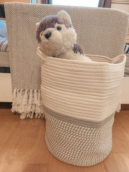 Toy storage. Home decor. Laundry basket. Kids play room. Amazon home  #LTKhome #LTKkids #LTKfamily