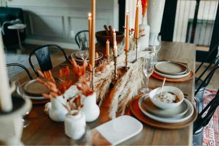 We love fall at C2S and love bringing to our dining rooms. With as much as we host we wanted to make the space feel welcoming and ready for our guests! Sharing with you how to get this look    #LTKhome #LTKSeasonal #LTKHoliday