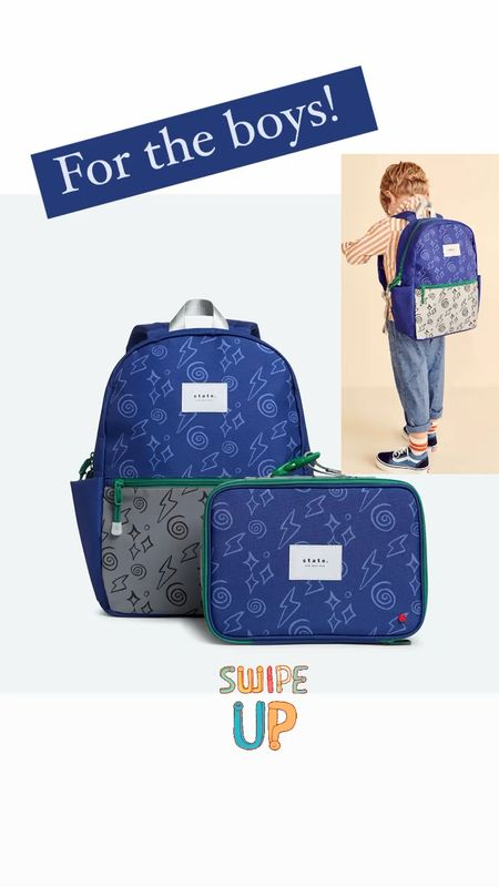 State bags collab with target for boys backpacks lunchboxes kids back to school   #LTKkids #LTKitbag #LTKfamily