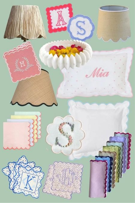 All my scalloped favorites for the home!   #LTKhome