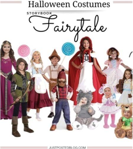 Storybook Fairytale Halloween costumes!   Halloween  Children Holiday Fairytale   #LTKkids #LTKSeasonal #LTKHoliday
