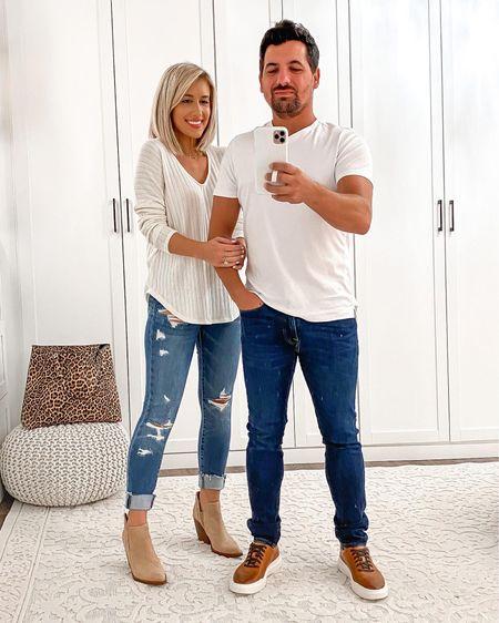 Nordstrom anniversary sale fall couples his & hers outfit ideas     http://liketk.it/2UVRe  #liketkit @liketoknow.it #LTKunder50 #LTKsalealert #LTKmens