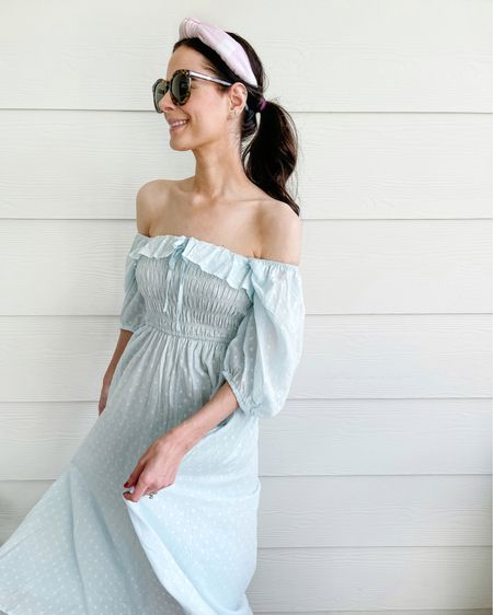 The prettiest summer dress! It was super hot & humid out last night and this dress was perfectly breezy and breathable! Wearing XS. http://liketk.it/3hkgb #liketkit @liketoknow.it