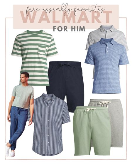 Tim found so many amazing free assembly favorites from Walmart for summer! He's loving their tees, shorts and button downs. http://liketk.it/3hPnW #liketkit @liketoknow.it