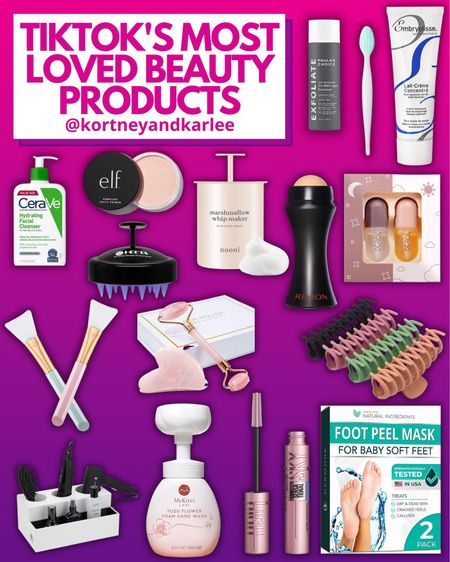 TikTok's Most Loved Beauty Products from Amazon!!!  Amazon beauty | amazon beauty favorites | amazon beauty finds | amazon beauty essentials | amazon beauty lover favorites | beauty amazon favorites | amazon beauty faves | amazon skincare | amazon beauty must haves | skincare favorites | amazon skincare favorites | amazon makeup | amazon makeup favorites | the best of amazon makeup | makeup must haves | amazon makeup must haves | Kortney and Karlee | #kortneyandkarlee #LTKunder50 #LTKunder100 #LTKsalealert #LTKhome #LTKstyletip #LTKSeasonal #LTKbeauty @liketoknow.it #liketkit http://liketk.it/3hLyI