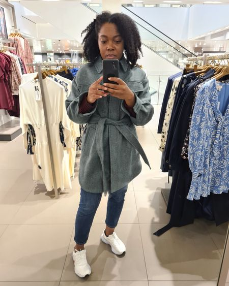 Found my winter coat of dreams! Well it's a shacket actually... have wanted a decent one for ages, thought I would want a check pattern but I love this green!  I'm just wearing with jeans and trainers here but this jacket will go with a multitude of outfit options!   http://liketk.it/3nFPC    @liketoknow.it #liketkit @liketoknow.it.europe #LTKSeasonal #LTKeurope #LTKfit #LTKstyletip