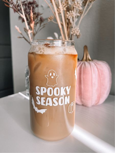 Etsy - cute and ready for spooky season way to drink your coffee ☕️ also love my love my pumpkins this year!   #LTKHoliday #LTKSeasonal #LTKhome