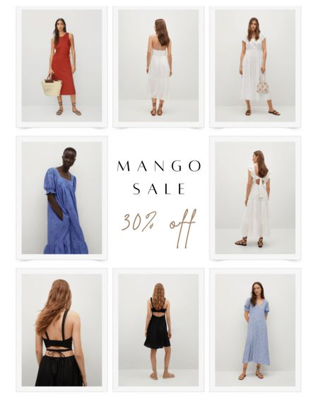 Get 30% off Mango clothing this weekend in their friends and family sale! They have so many cute maxi and backless dresses that are great for summer!   #LTKsalealert #LTKSeasonal #LTKunder100