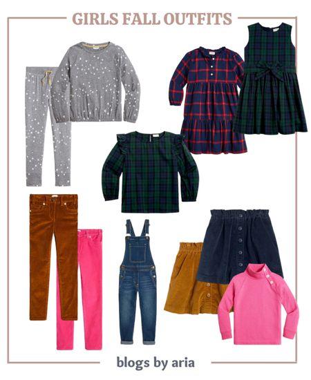 Girls fall outfits on sale!! Extra 15% off orders $100 or 20% off orders $125+   Fall fashion Kids style  Girls clothes  Girls fashion  Girls dresses  Girls skirts  Girls corduroy pants  #LTKfamily   #LTKsalealert #LTKSeasonal #LTKkids
