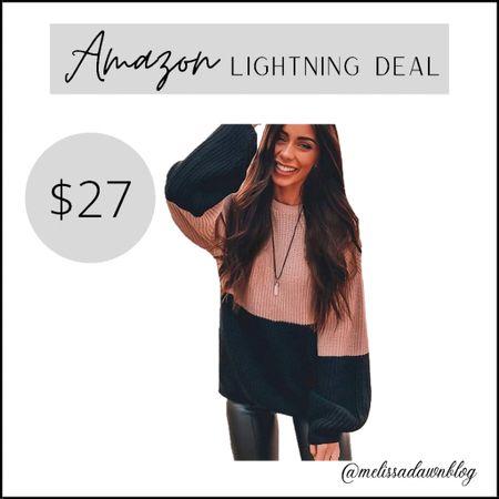 Bubble sleeve sweater   #LTKSeasonal #LTKunder50 #LTKsalealert