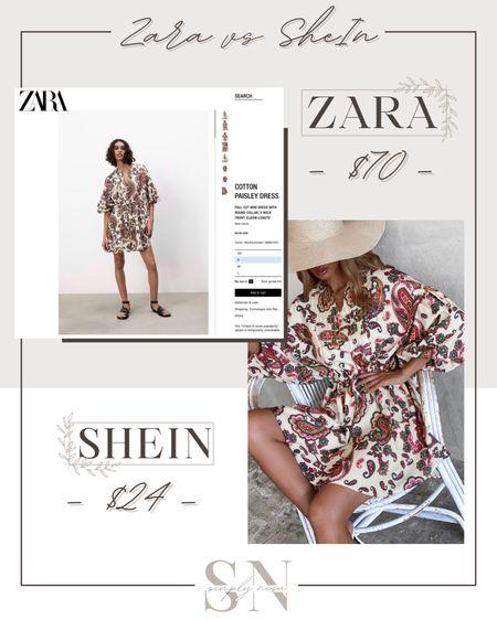 Zara vs Shein - love this affordable summer outfit! Such a cute summer dress! http://liketk.it/3ieRG   #liketkit @liketoknow.it   #LTKstyletip #LTKunder50 #LTKunder100 #LTKsalealert #LTKworkwear #LTKcurve #LTKbump #LTKfit #LTKshoecrush #LTKbeauty #LTKeurope #LTKbrasil #LTKtravel Shop my daily looks by following me on the LIKEtoKNOW.it shopping app