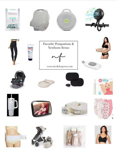 Now that I'm well into month two with Piper, I wanted to share my favorite postpartum and newborn items! I'll do a full blog post with explanations soon, but here they are in the meantime. Just trust me 🙌🏼   #postpartum #newborn #baby #hospitalbag #favorites #labor #kids #love #lovelist #gift #diaperbag #birth #mybrestfriend #women #uppababy #stroller #leggings #car seat  #LTKkids #LTKbaby #LTKbump