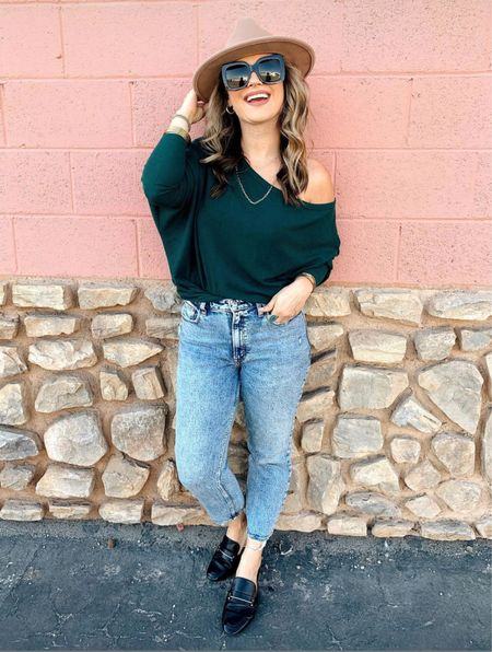 This sweater is one of my favorite amazon finds!!! Super easy & cute fall outfit!  #LTKshoecrush #LTKunder50 #LTKstyletip