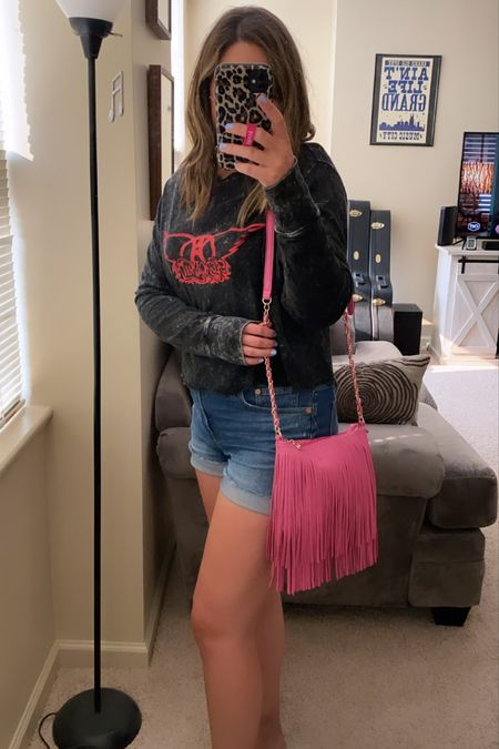 The cutest fringe crossbody bag for under 20! Can't believe the quality and the price! Comes in lots of colors.   #LTKitbag #LTKstyletip #LTKunder50