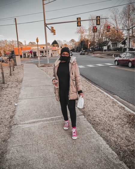 Quick run to grab donuts at the local shop with the fam🤎   #liketkit #LTKfamily #lifestyleblog #fashionblog #winteroutfit @liketoknow.it http://liketk.it/34DoH