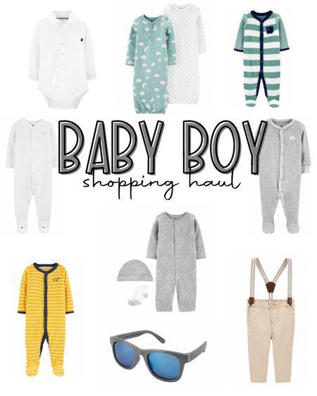 Baby Boy Clothes | Baby Boy Onesies | Baby Boy Outfits | Newborn @liketoknow.it #liketkit http://liketk.it/3cNJx #LTKbaby