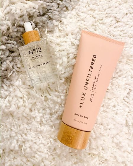 Lux unfiltered tanning cream & face drops @liketoknow.it #liketkit http://liketk.it/35PsG