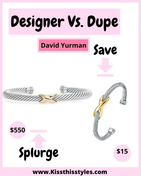 The Styled Collection! These are the best David Yurman Dupes! These are selling out fast. Some designs have already sold out! Stock up, ladies! #ltksale #dupes #designerdupes #davidyurmandupes  #LTKsalealert #LTKDay #LTKSale