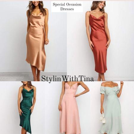 Special occasion dresses, night out, date night dresses, wedding guest outfit, bridesmaid dresses. #weddingguestdress #specialoccasiondress#dressup #summerdress#springdress http://liketk.it/3h9F5 #LTKDay #LTKsalealert #LTKunder100 #LTKstyletip #LTKunder50 #LTKcurves #LTKwedding #LTKworkwear #LTKtravel #LTKbeauty #LTKfamily @liketoknow.it #liketkit