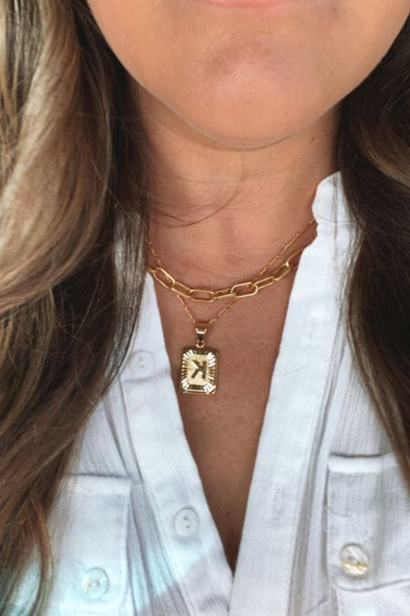 #nsale Nordstrom anniversary sale jewelry necklace layered necklaces gold jewelry   #LTKsalealert #LTKunder100 #LTKunder50