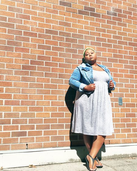 Comfy dress season loading!   Remember, you can Shop this outfit and my other daily looks by following me on the @liketoknow.it shopping app. http://liketk.it/3hd5S #liketkit #LTKcurves #LTKstyletip