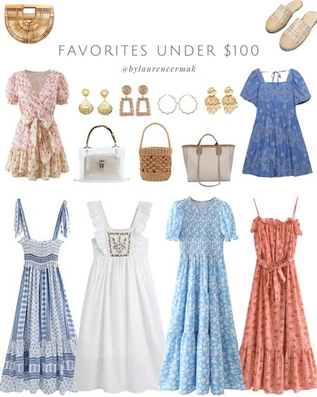 {Favorites Under $100} Loving these fun summer pieces and all under $100! To shop, click the link in my profile or you can shop by screenshot in the @liketoknow.it app! #liketkit #LTKunder100 #LTKunder50 #LTKstyletip http://liketk.it/3ijsM