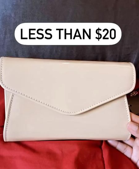 The cutest purse for under $20! Can carry as handbag or use removable chains to make shoulder bag.  #LTKunder50 #LTKitbag