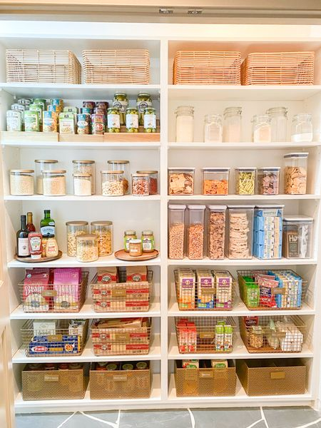 Shop this pantry transformation with Neat Method organizing products!   #LTKhome #LTKSeasonal #LTKfamily
