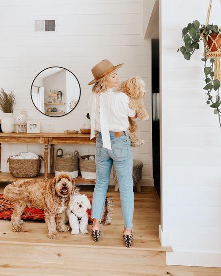 My favorite pups! Linked my outfit and entry room decor http://liketk.it/3efMA #liketkit @liketoknow.it.home @liketoknow.it #LTKstyletip #LTKworkwear