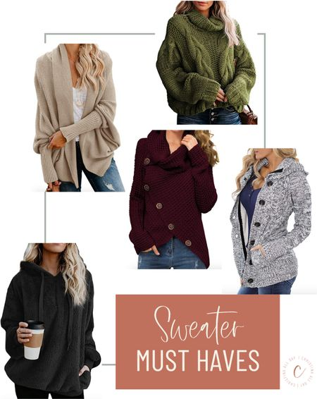 These are my favorite sweaters under $50 that you can dress up or down!  #LTKunder50 #LTKcurves #LTKstyletip