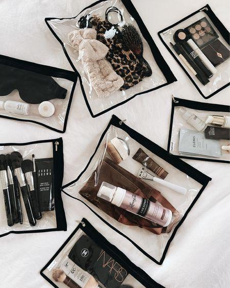 Amazon finds, amazon beauty, clear makeup bags, organizer bags, summer beauty finds, StylinbyAylin @liketoknow.it #liketkit http://liketk.it/3iaa7   #LTKbeauty #LTKstyletip #LTKunder50