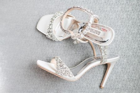 It's #wedding season and these #badgleymischka sandals were perfect and comfortable for my big day. They fit true to size. #weddingshoes  #LTKshoecrush #LTKwedding #LTKSeasonal