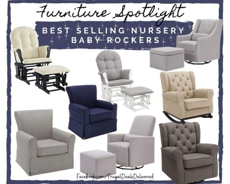 Baby nursery rocker glider rocking chairs for the home furniture home decor living room new mom maternity. Baby gift nursing breastfeeding chair.    Screenshot this pic to get shoppable product details with the LIKEtoKNOW.it shopping app make sure you follow FrugalDealsDelivered for more ideas and collage inspiration! #liketkit @liketoknow.it #LTKbaby #LTKSpringSale  #LTKhome @liketoknow.it.home http://liketk.it/3aKm4