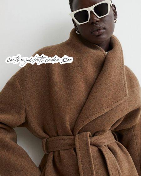 Coats & jackets under $200   #LTKSeasonal #LTKstyletip