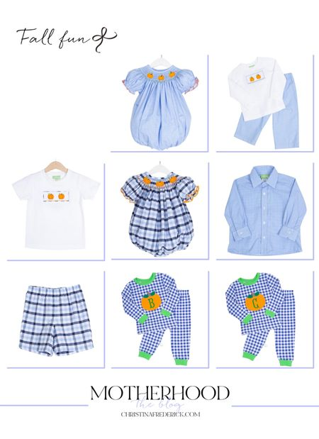 Fall fun is on my mind! With the start of school next up are fall festivals, the pumpkin patch and more! I love these blue looks for the season ahead!   #LTKkids #LTKbaby #LTKfamily