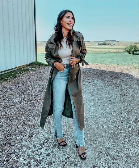 Fall-ing for this coat 😍🍁  #LTKunder100 #LTKSale #LTKstyletip