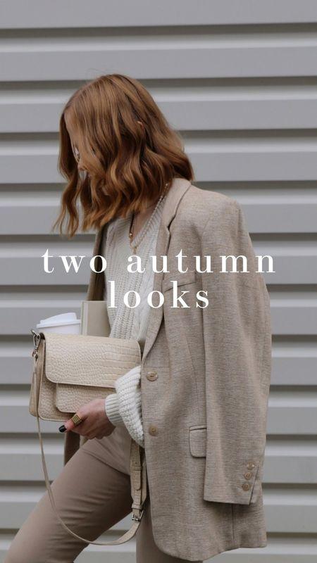 2 autumn looks 🍂