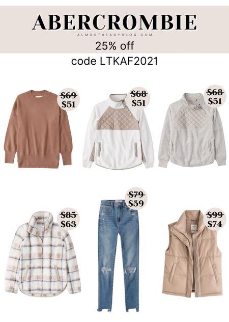 Abercrombie 25% off code LTKAF2021 http://liketk.it/3oaxV @liketoknow.it #liketkit #LTKunder100 #LTKunder50 #LTKsalealert #LTKSale