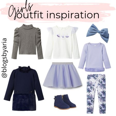 Cute styles for girls to wear this holiday season and winter girls outfit ideas tutu skirt girls booties   #LTKkids #LTKSeasonal #LTKfamily