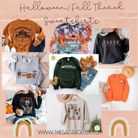 Found the cutest fall/Halloween themed sweatshirts ♥️   #LTKstyletip #LTKSeasonal #LTKunder50