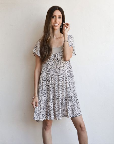 Sadly this mini dress is sold out, but I linked other gorgeous mini dresses from the same company! Love everything I get from Bohme!   #LTKsalealert #LTKstyletip #LTKunder50