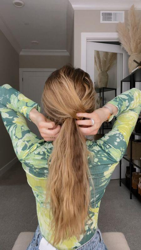 The ponytail hack you need to try!   #LTKbeauty #LTKSeasonal