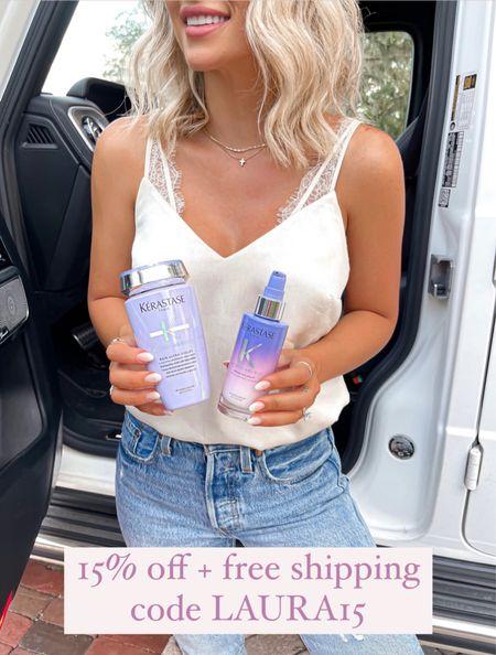 Purple shampoo for blonde hair 15% off + free shipping code LAUR15  #hair #laurabeverlin  #LTKunder50 #LTKsalealert #LTKbeauty