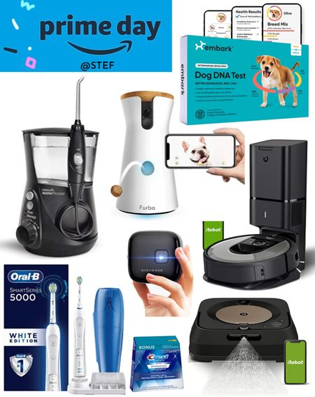 Amazon Prime Day fronds for the home, your pets and your family!     Pet dna kit dog dna kit embark dog breed furbo dog treat dog monitor dog camera pet cam pet camera waterpik water flosser electric toothbrush electronic toothbrush crest white strips roomba vacuum roomba mop projector mini projector  #LTKsalealert #LTKfamily #LTKhome