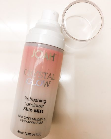 JOAH's new Crystal Glow Collection just launched today! It includes a Refreshing Luminizer Skin Mist. The skin mist helps prep, hydrate, and set the skin for an all-over radiant glow. It's formulated with hibiscus flower and hyaluronic acid, all while being vegan and cruelty-free. The skin mist is available for $19.99 at CVS and on JOAH's site. Get yours now!  #LTKNewYear #LTKbeauty #LTKunder50