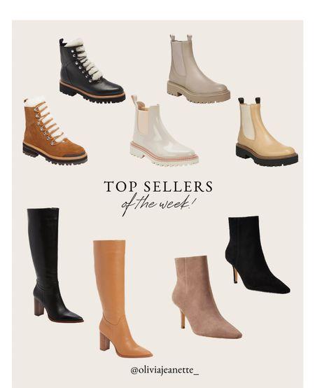 Top sellers of the week! The best shoes for fall 🤎  #LTKunder100 #LTKSeasonal #LTKshoecrush