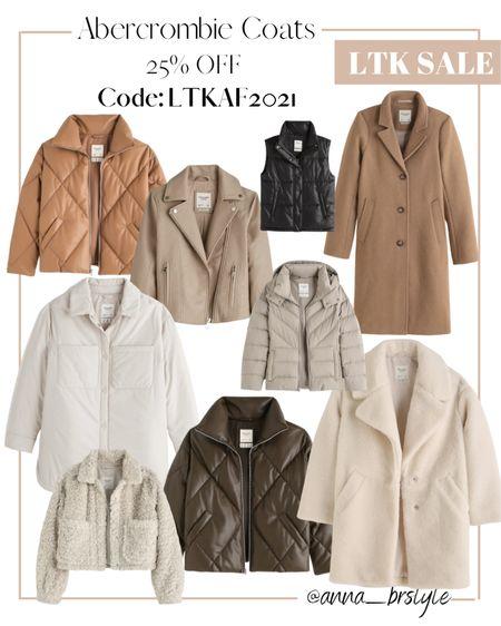 Abercrombie coats on sale #anna_brstyle  #LTKSale